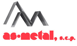 As Metal logo